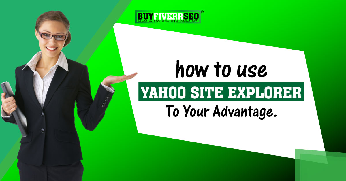 How to use Yahoo Site Explorer to research website competitors?